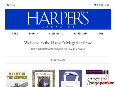 store.harpers.org